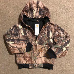 Boys Carhartt Realtree Camo Active Jacket -M(8)